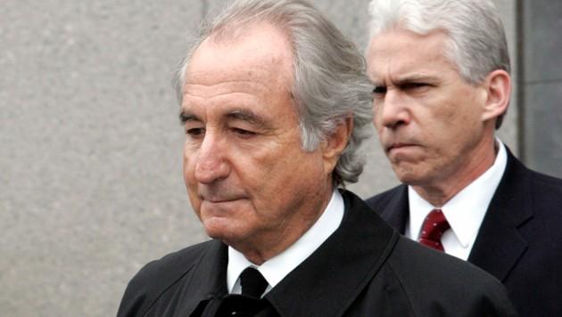 Bernard Madoff bei einem Gerichtstermin im Jahr 2009. (Bild: AP)