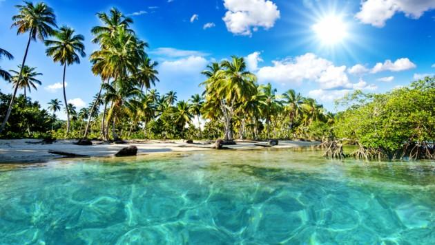 Die Sehnsucht nach Urlaub auf karibischen Stränden, nach Sonne und Meer bleibt vorerst leider pures Wunschdenken. (Bild: ©doris oberfrank-list - stock.adobe.com)
