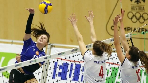 PSVBG-Angreiferin Patricia Maros (li.) (Bild: krugfoto/Krug Daniel sen.)