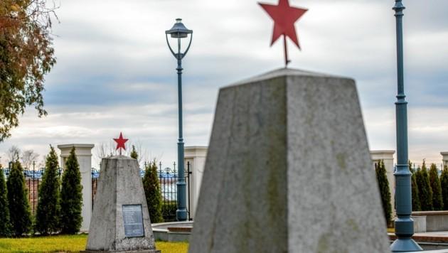 Der russische Soldatenfriedhof in Laa an der Thaya (Bild: Imre Antal)