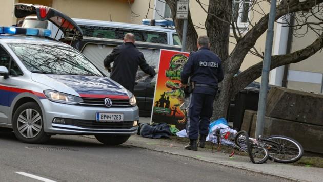 Beim Anprall wurde der Radfahrer getötet, der Autolenker ließ sein Opfer einfach liegen (Bild: laumat.at)