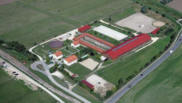 Eine Luftaufnahme des Teiritzhofs in Niederösterreich (Bild: teiritzhof.at)