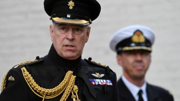 Prinz Andrew (Bild: AFP)