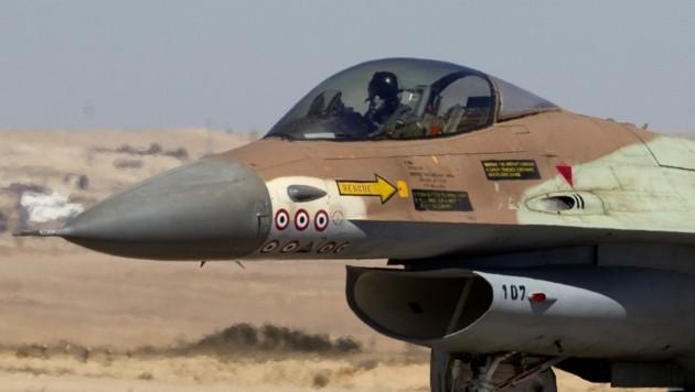 Eine F-16 der israelischen Luftwaffe (Bild: AFP)