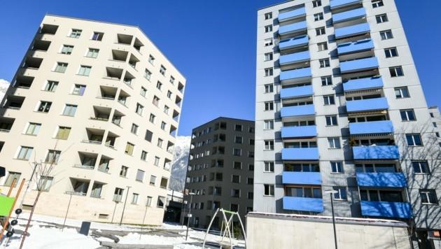 Innsbrucks rein gewerblich genützte Gebiete könnten laut Lorenz zu modernen, urbanen Stadtteilen werden, die Industrie und Wohnraum zugleich beherbergen. (Bild: LIEBL Daniel | zeitungsfoto.at)