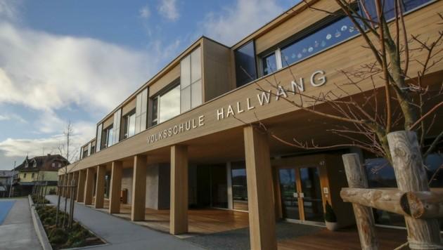Die Volksschule Hallwang gilt als Vorzeige-Holzbau (Bild: Tschepp Markus)