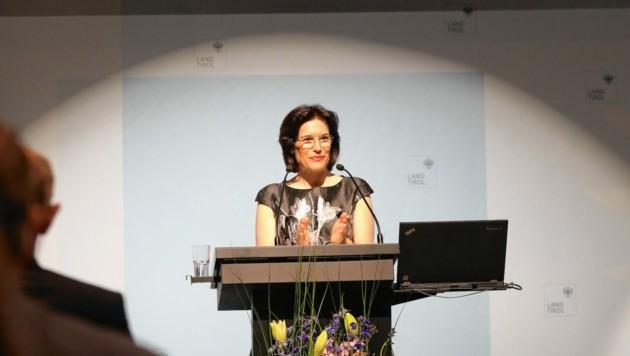 Maria Luise Berger, die amtierende Landesvolksanwältin (Bild: Landesvolksanwaltschaft Tirol/Pe)