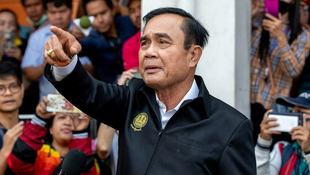 Ministerpräsident Prayuth Chan-ocha (Bild: Associated Press)