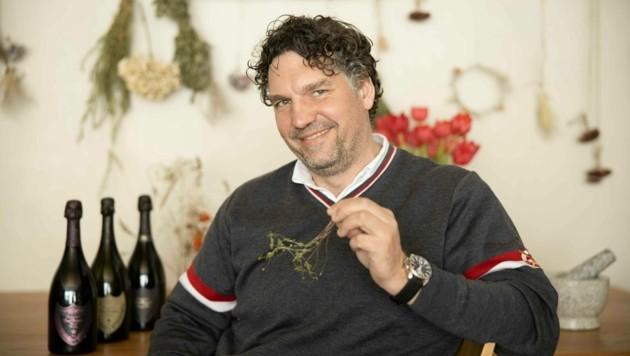 Drei-Hauben-Koch Thorsten Probost verwöhnt Feinschmecker in Lech. (Bild: Maurice Shourot)
