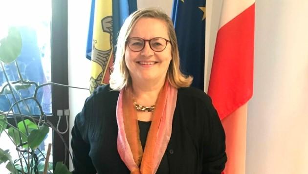 Botschafterin Christine Freilinger (Bild: Gregor Brandl)