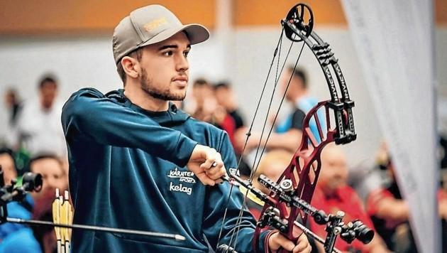 Stefan Heincz ist die Nummer eins mit dem Compound-Bogen (Bild: Verein Kärnten Sport)