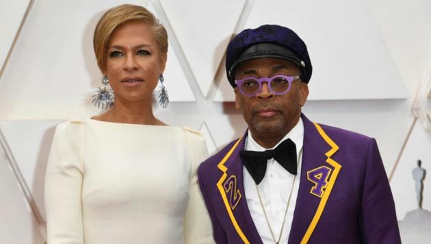 Tonya Lewis und Spike Lee (Bild: Richard Shotwell/Invision/AP)