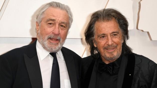 Robert De Niro und Al Pacino (Bild: AFP)