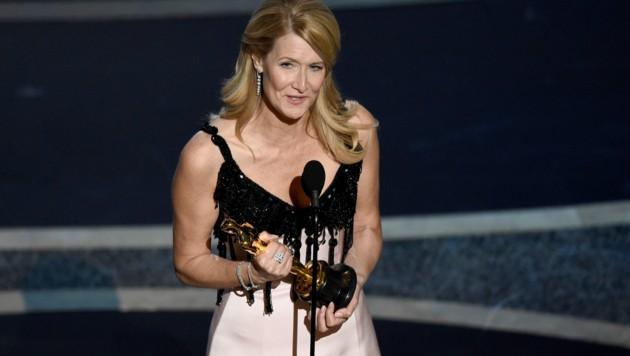 Laura Dern wurde als beste Nebendarstellerin mit einem Oscar ausgezeichnet. (Bild: Chris Pizzello/Invision/AP)