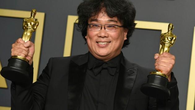 """Bong Joon Ho schrieb mit """"Parasite"""" Geschichte. (Bild: 2020 Invision)"""