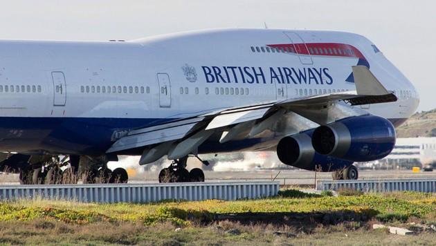 Eine Maschine wie diese schaffte dank Rückenwind den Rekordflug von New York nach London. (Bild: Wikipedia/Kohei Kanno (CC BY-SA 2.0))