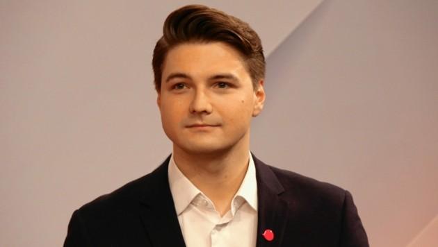 Niko Swatek: Neos-Gemeinderat und Landtags-Klubobmann. (Bild: Christian Jauschowetz)
