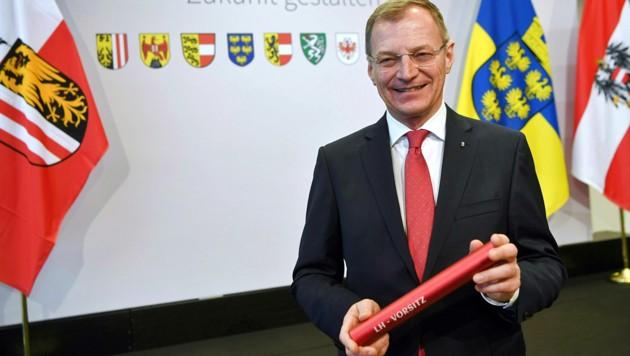 Der derzeitige Ober-Landeshauptmann Thomas Stelzer (Bild: APA/FOTOKERSCHI.AT/WERNER KERSCHBAUMMAYR)