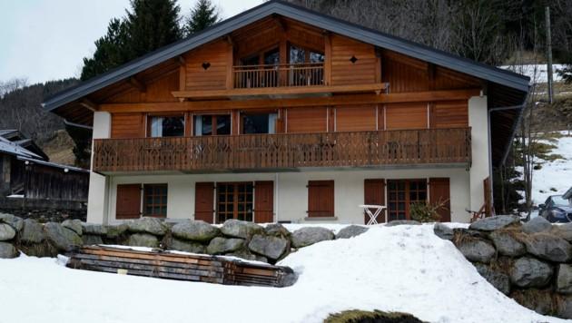 In dieser Skihütte in Les Contamines-Montjoie in den französischen Alpen verbreitete sich das Coronavirus von einem gesund wirkenden Gast auf weitere. (Bild: AFP)