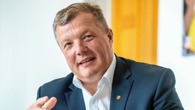 Landesrat Bernhard Tilg ist auf die Ergebnisse gespannt. (Bild: Land Tirol/Berger)
