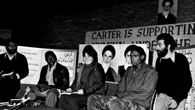 1979: Die Geiselnahme in der US-Botschaft in Teheran hält die Welt in Atem. (Bild: IRNA-FILES/AFP)
