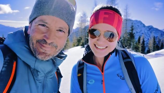 Bergselfie mit der Mölltalerin Tamina Lerchbaumer. Danke für die tolle Tour. (Bild: Wallner Hannes)