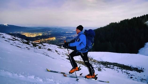 Oft nach der Arbeit zieht es Tourengeher in die Skigebiete (Bild: Wallner Hannes)