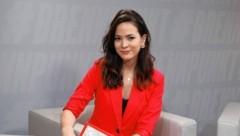 Moderatorin Katia Wagner (Bild: zwefo)