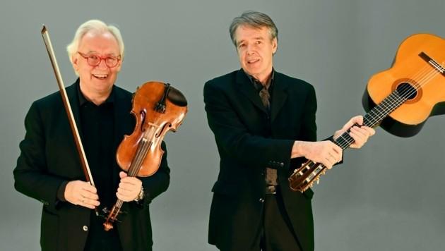 Lorenz Maierhofer (links) und Fritz Hieger (Bild: Lions-Club Graz)