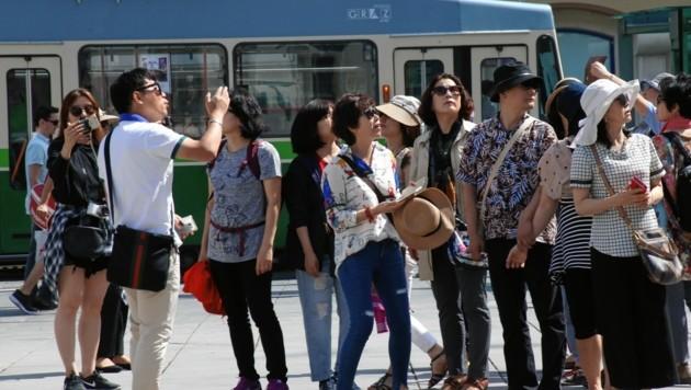 Der asiatische Markt ist ein hoffnungsvoller für Graz (Bild: Krone)