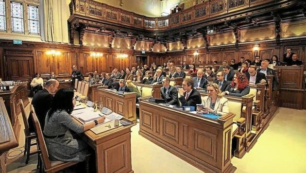 Im Grazer Gemeinderat gibt es heute wieder einiges zu diskutieren. (Bild: Jauschowetz Christian)