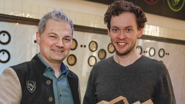 Silmbroth (li.) und Strasser (Bild: Tschepp Markus)