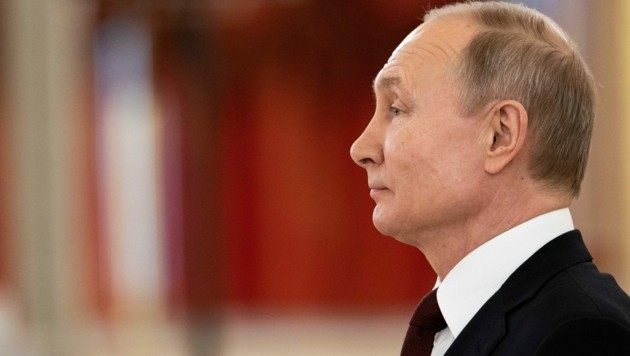 Wladimir Putin (Bild: APA/AFP/POOL/Alexander Zemlianichenko )