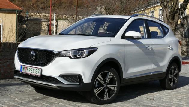 MG ist eine der wenigen chinesischen Automarken, die in Europa auf dem Markt sind. (Bild: Stephan Schätzl)
