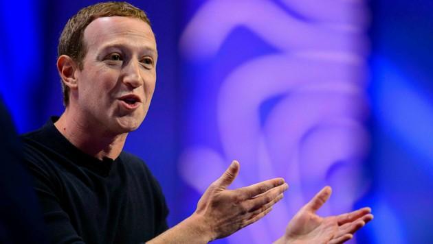 Facebook-Chef Mark Zuckerberg (Bild: AP)
