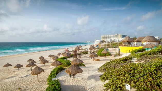 Sandy Beach in Cancun (Bild: checkfelix)