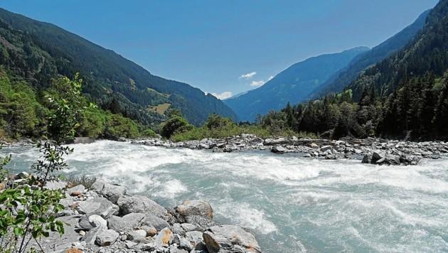 Mehrere Wasserkraftwerke sollen im Isel-Gebiet in Osttirol entstehen. (Bild: WWF/Vincent Sufiyan)