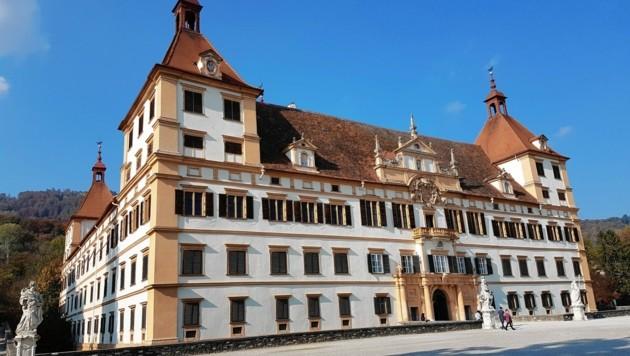 Seit dem Jahr 2010 zählt das Schloss Eggenberg neben der Grazer Altstadt zum Weltkulturerbe. (Bild: Radspieler Jürgen)