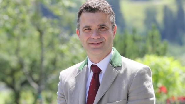 Rupert Quehenberger wurde wieder Präsident der Landwirtschaftskammer. (Bild: Bauernbund/Neumayr)