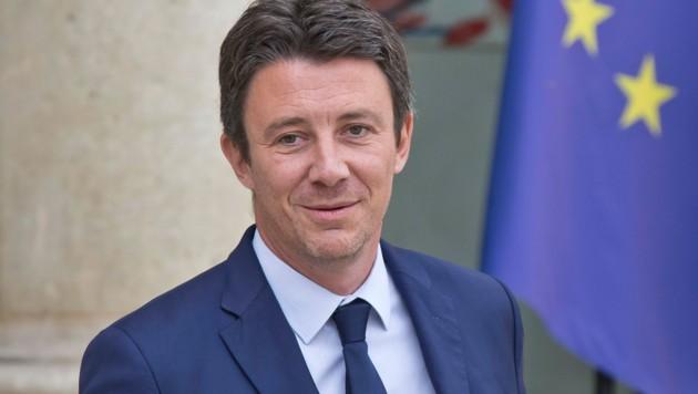Benjamin Griveaux gilt als enger Vertrauter von Präsident Emmanuel Macron. (Bild: AP)
