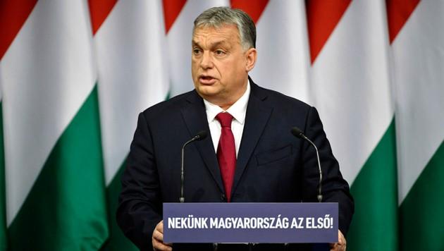 Viktor Orban (Bild: Zsolt Szigetvary/MTI via AP)