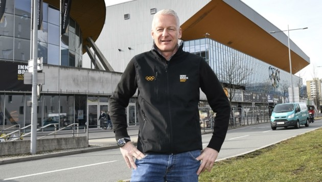 Matthias Schipflinger, Chef der Olympiaworld Innsbruck (Bild: Andreas Fischer)
