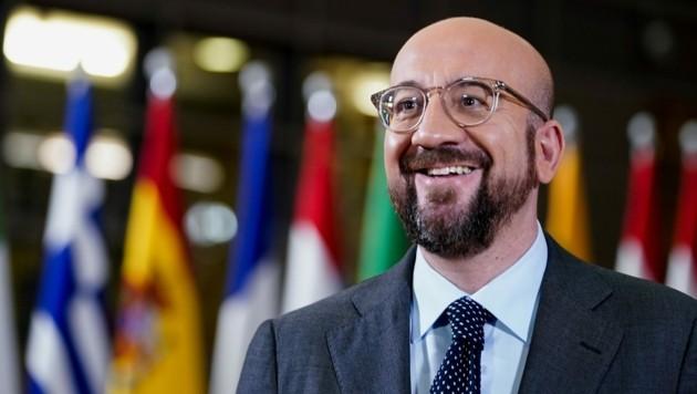 Ratspräsident Charles Michel muss sich gerade heftige Kritik an seinem Vorschlag für das mehrjährige EU-Budget anhören. (Bild: AFP)