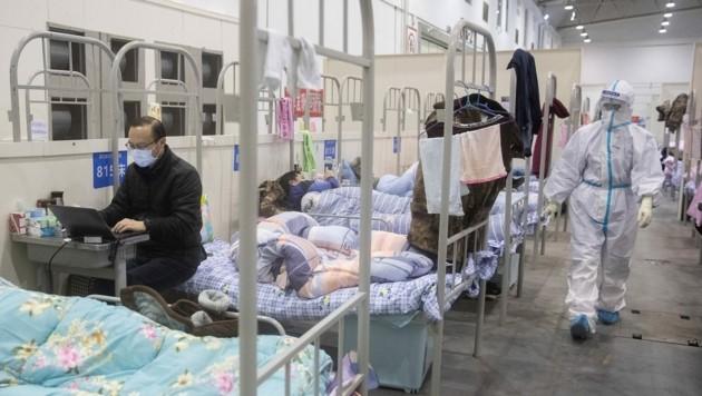 Der chinesische Bischof Joseph Zhu Baoyu dürfte der weltweit älteste Patient sein, der sich vom Coronavirus erholt hat und mittlerweile wieder ohne Virenbefund ist. (Bild: AFP)