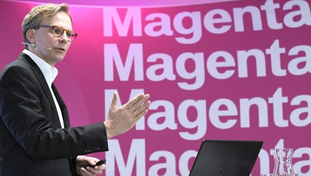 Magenta-Chef Andreas Bierwirth (Bild: APA/ROBERT JAEGER)