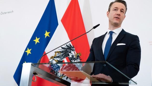 Finanzminister Blümel (Bild: APA/GEORG HOCHMUTH)