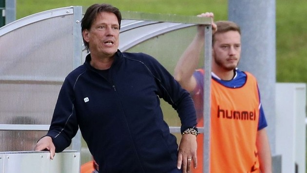 Darf weiter hoffen: Pinzgau-Coach Christian Ziege. (Bild: Tröster Andreas)