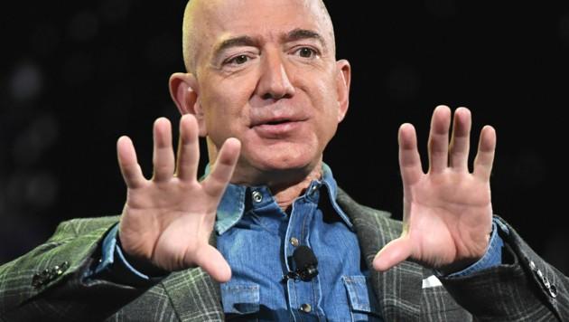 Jeff Bezos (Bild: AFP)
