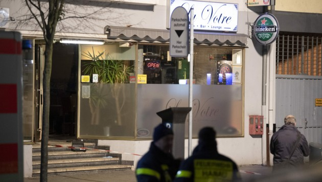 Der erste Tatort in der Innenstadt (Bild: APA/dpa/Boris Roessler)