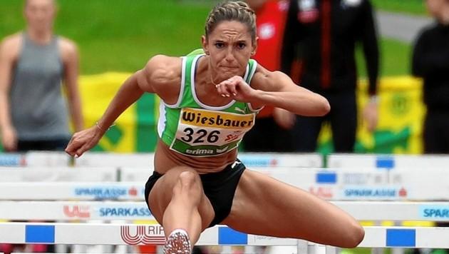 Stephanie Bendrat verteidigt ihren Titel in Linz. (Bild: Andreas Tröster)
